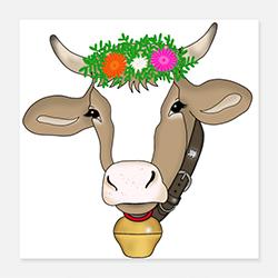 Poster vaca